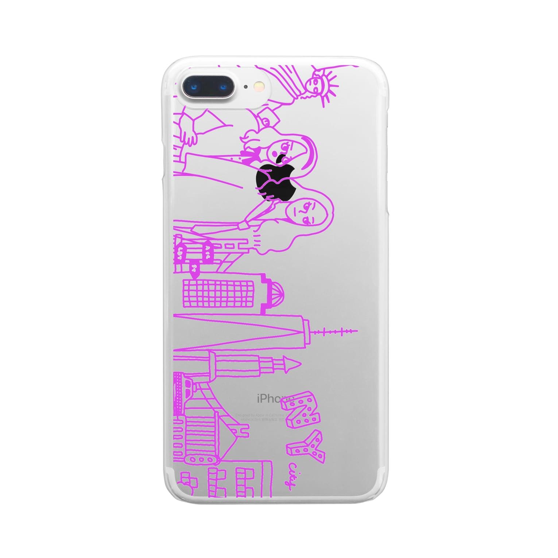 ito_o0o0oの憧れのNY Clear smartphone cases