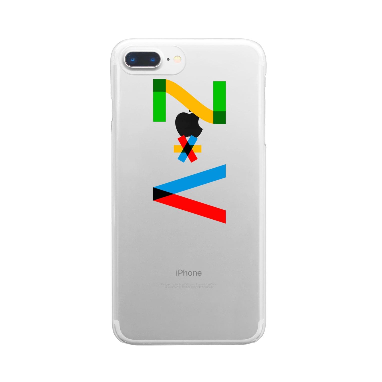 marikiroのZV initial Clear smartphone cases