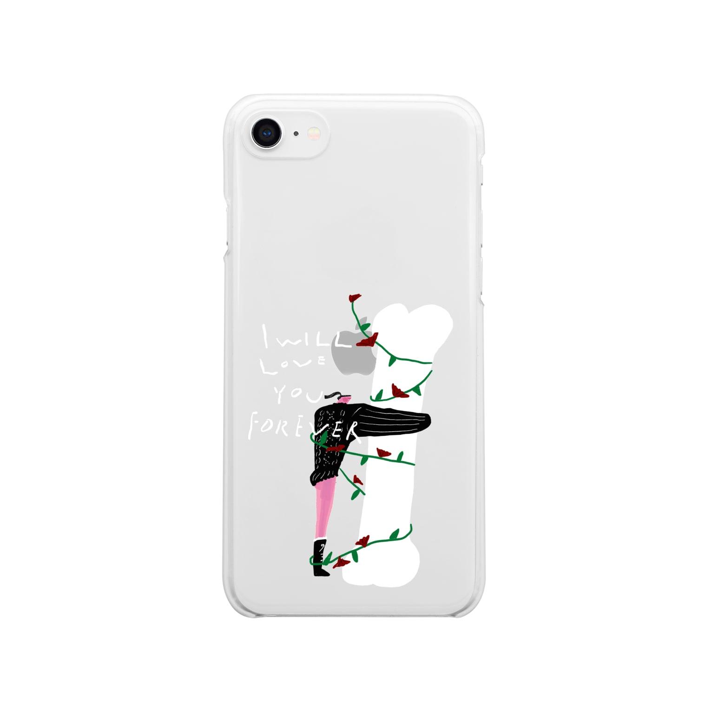 明季 aki_ishibashiの永遠に好きな人 Clear smartphone cases