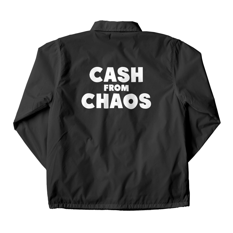 ShineのCASH FROM CHAOS Coach Jacket