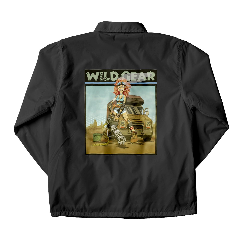 nidan-illustrationのWILD GEAR Coach Jacket