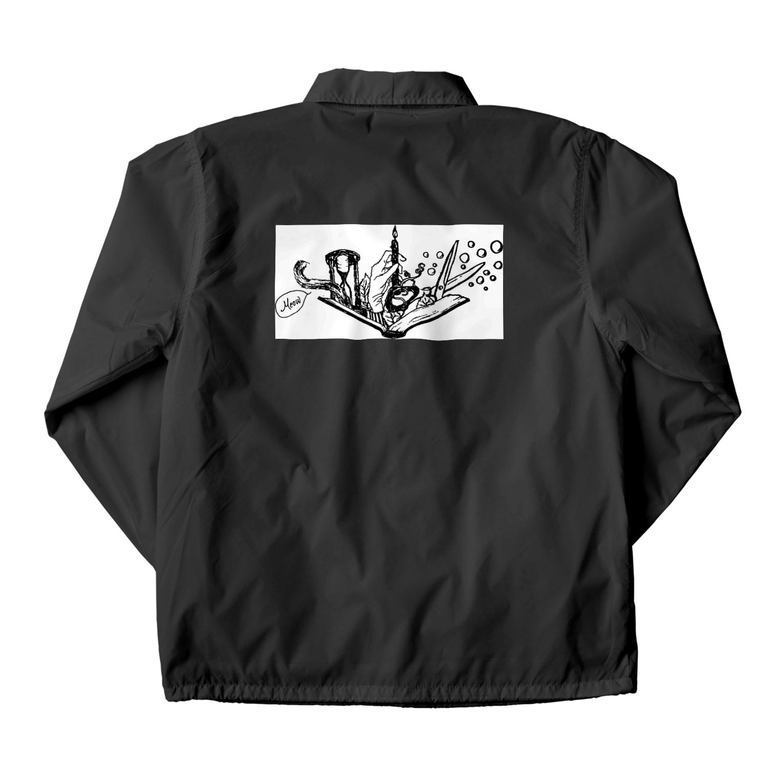 LUNARHOLIC STOREの-Noir+Angelique- メモリアルイラスト柄シリーズ Coach Jacket