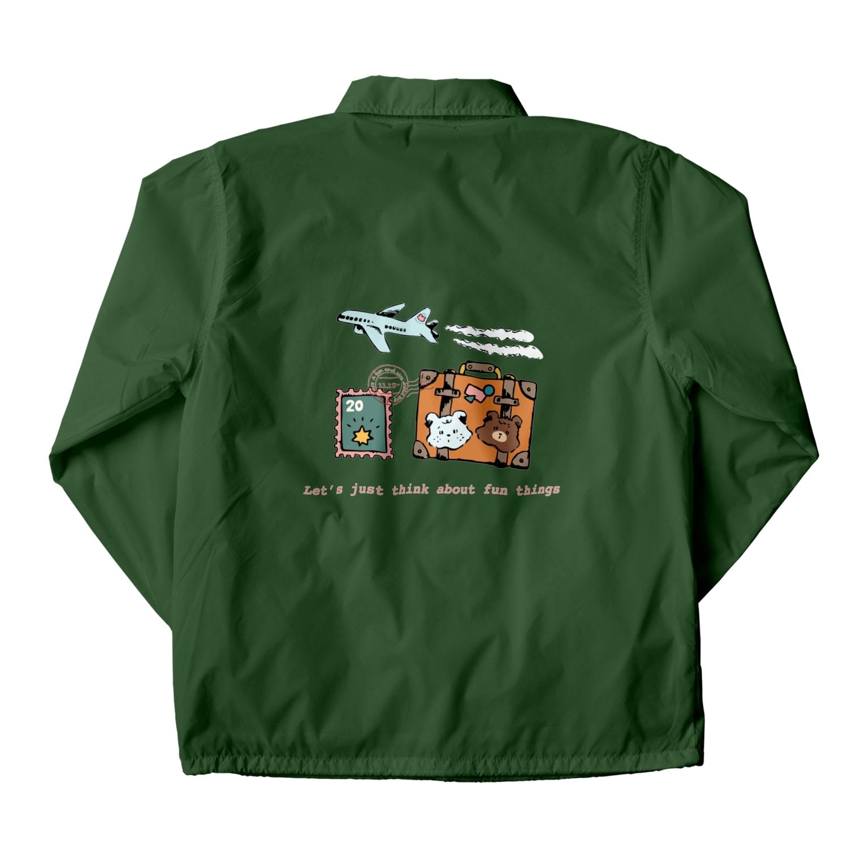 aaのクマたちの世界一周旅行 Coach Jacket