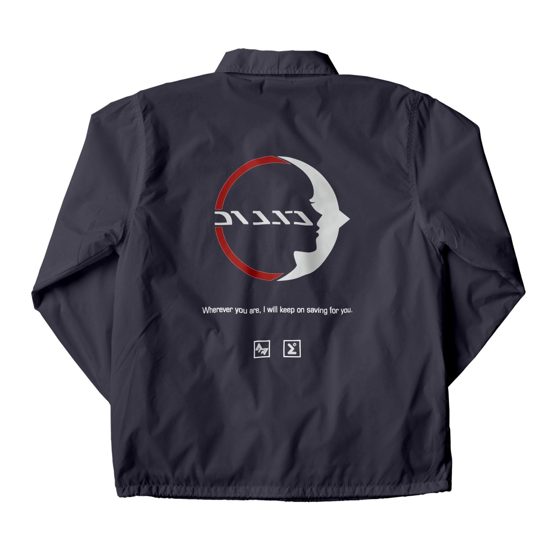 R-053llのDIANA - 01 Coach Jacketの裏面
