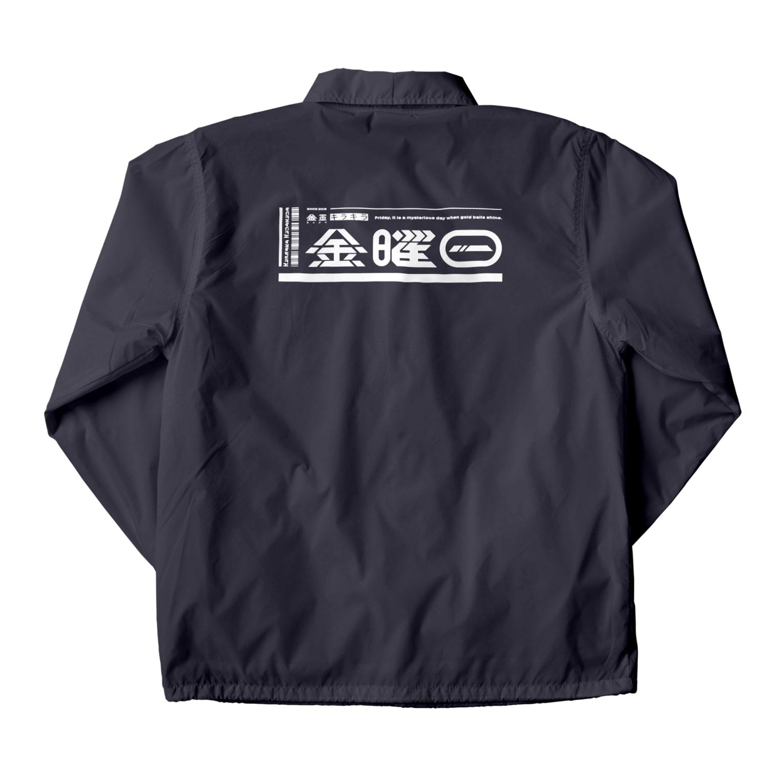 o_kwrの金玉キラキラ金曜日コーチジャケット19SS Coach Jacket
