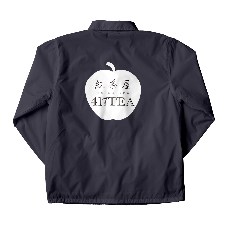 紅茶屋 417TEAの417TEA_White Coach Jacket