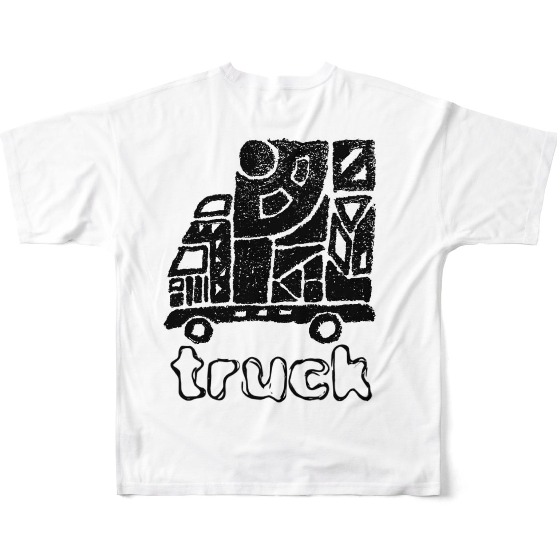 O.Rのtruck Full graphic T-shirts