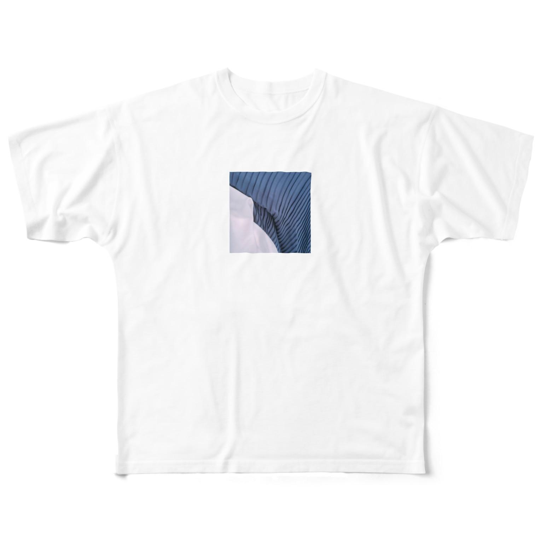 oiCiiiiのプリーツスカート Full graphic T-shirts