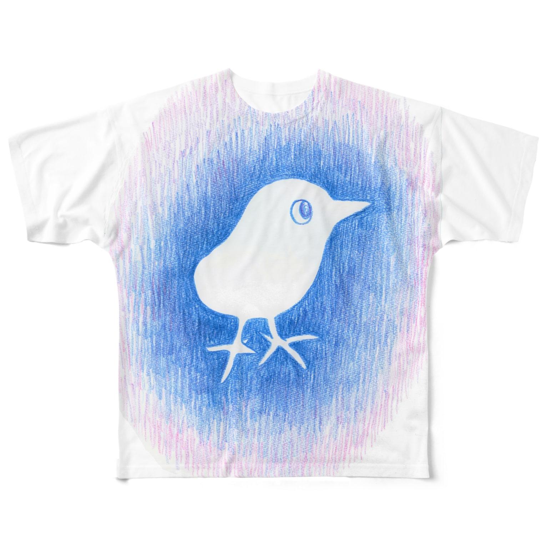 ミズホドリのとり Full graphic T-shirts