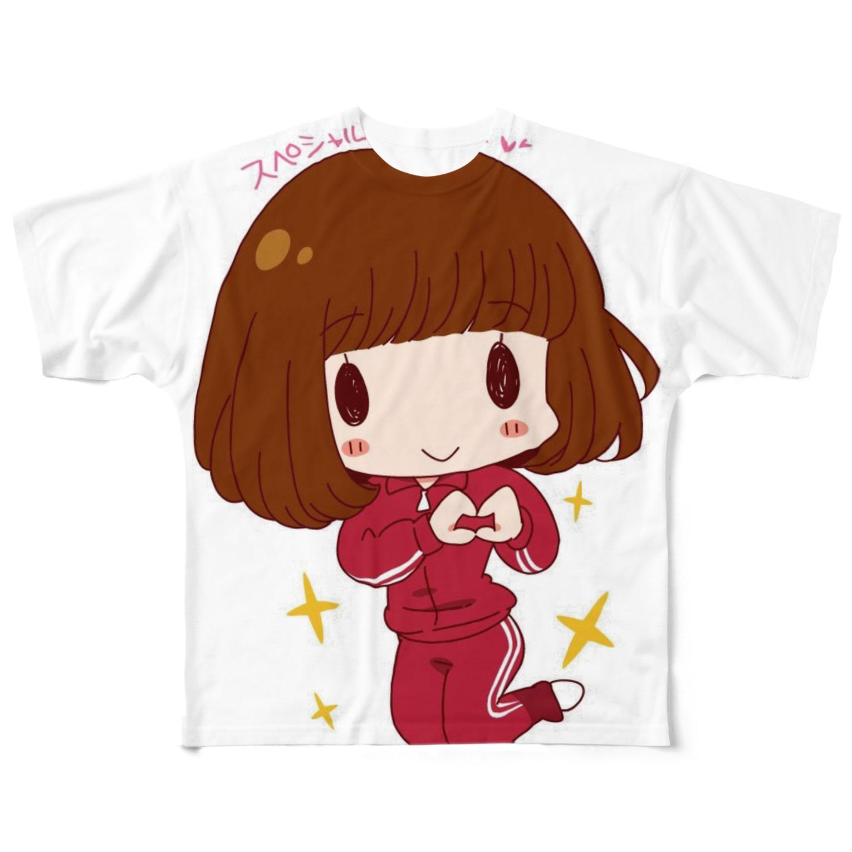 サティーヌ村の村長M Full graphic T-shirts