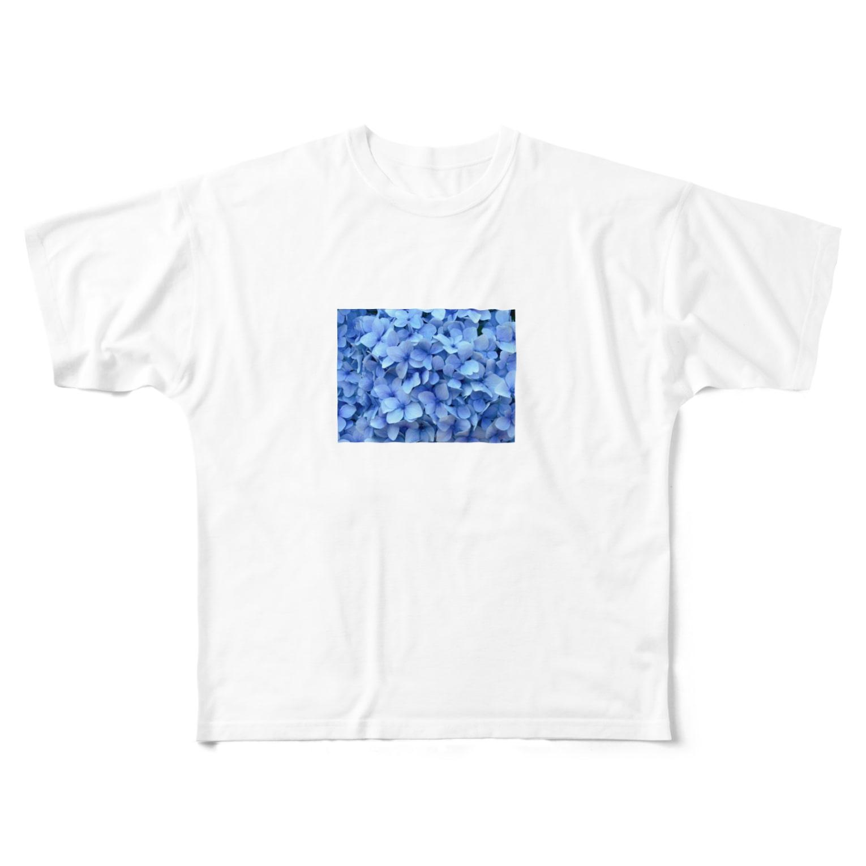 sn88のあじさい Full graphic T-shirts