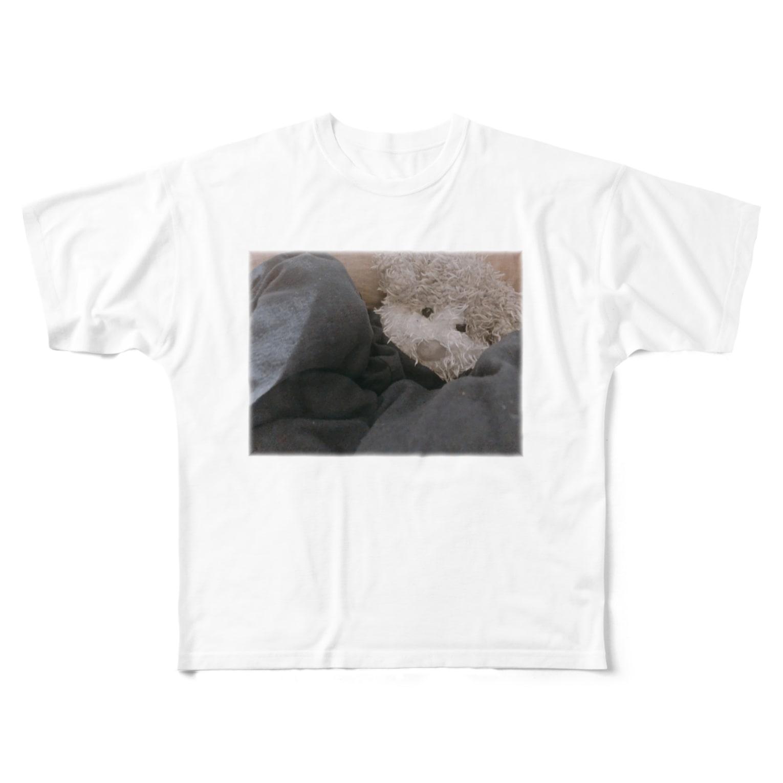 ncncccncの上目こた Full graphic T-shirts