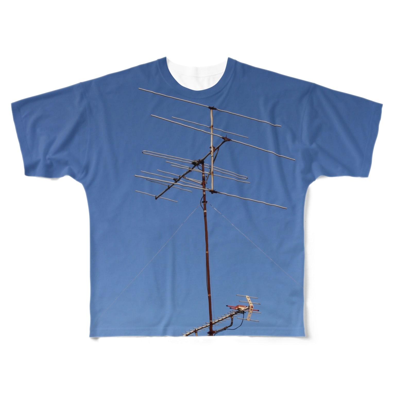 nnabenabeeの日本どこかのどこか Full graphic T-shirts