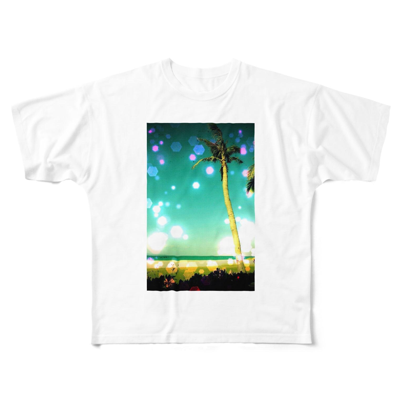 minmin3835のsurf Full graphic T-shirts