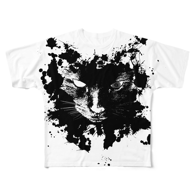 だてまき商店のlurk in the shadows Full graphic T-shirts