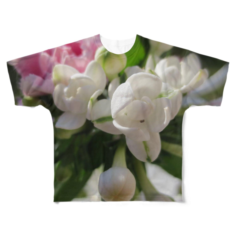 Dreamscapeのお幸せに! Full graphic T-shirts