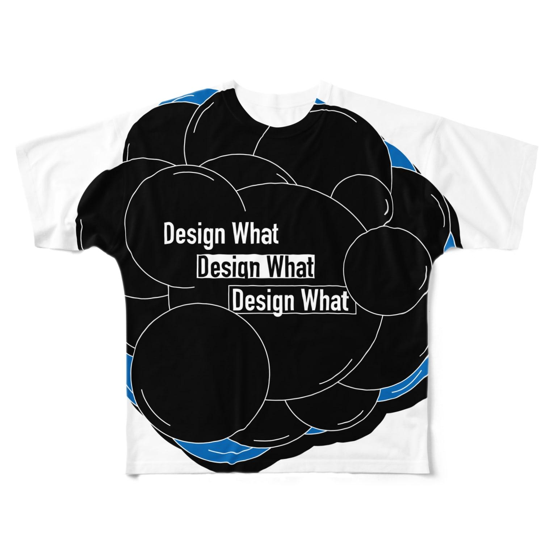 わっとのモクモク Full graphic T-shirts