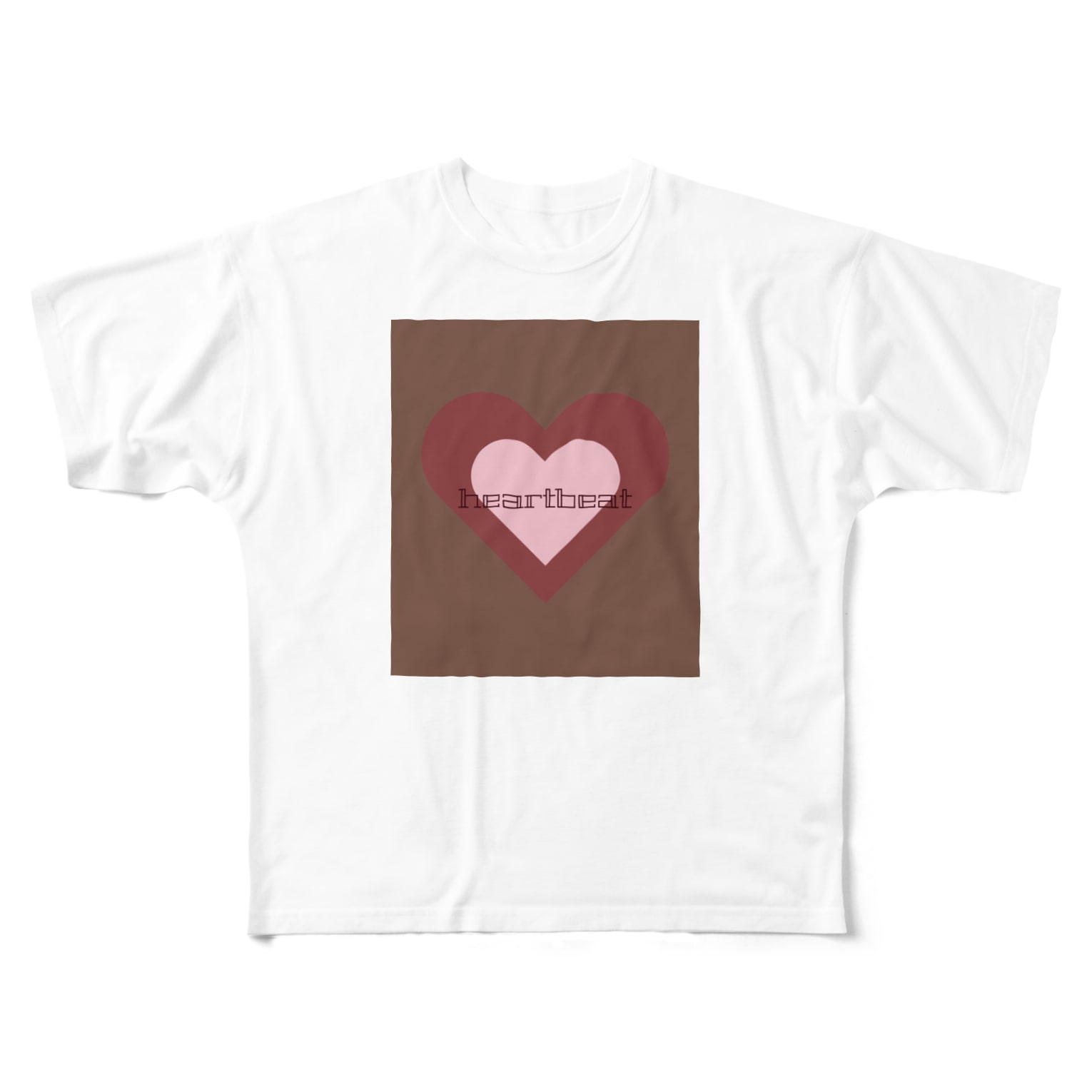tominのheartbeat Full graphic T-shirts