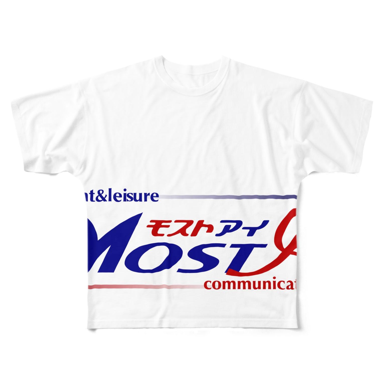 kametakaのモストアイロゴ(イベント&レジャー) Full graphic T-shirts