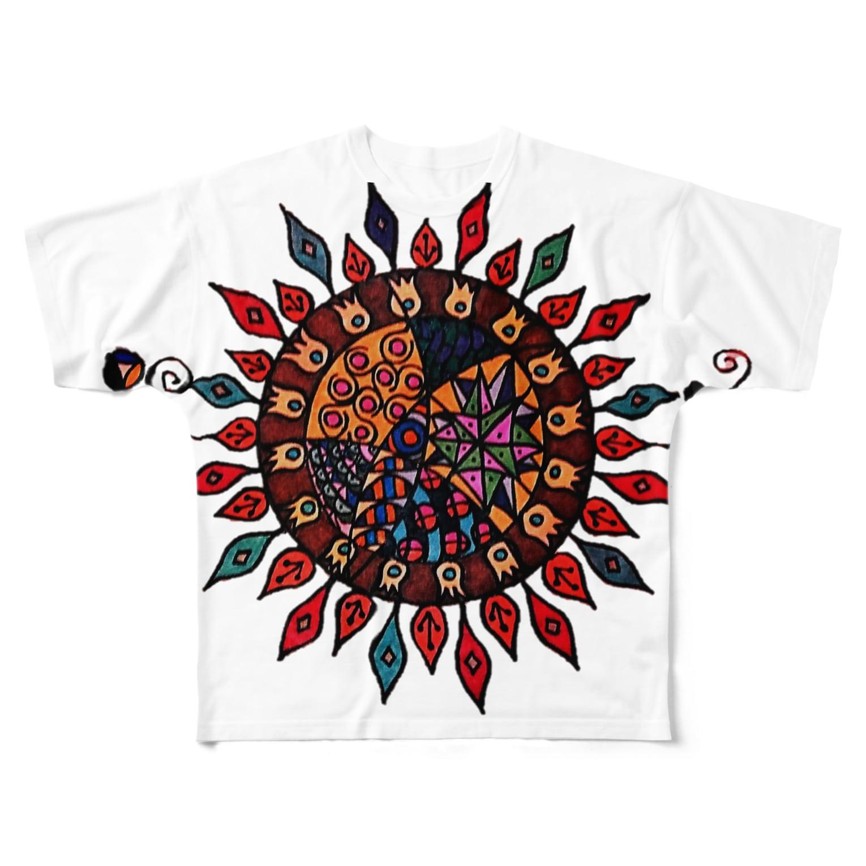 airuhinaの太陽 Full graphic T-shirts
