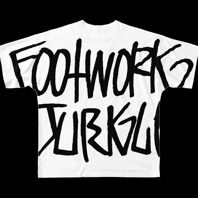 ガルスズリのFootwork JungleフルグラフィックTシャツ