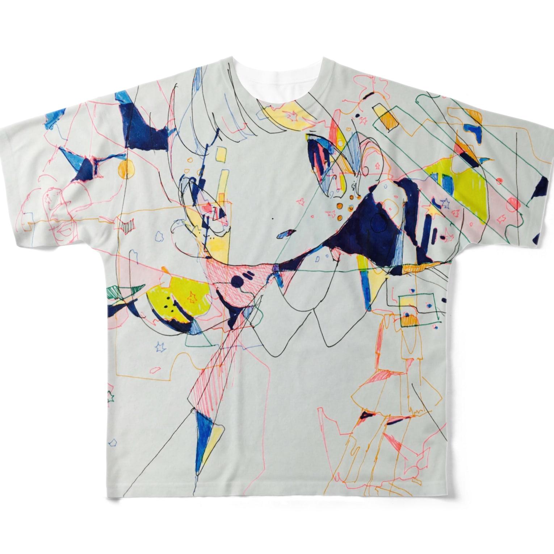 すいぞくかんの無題 Full graphic T-shirts
