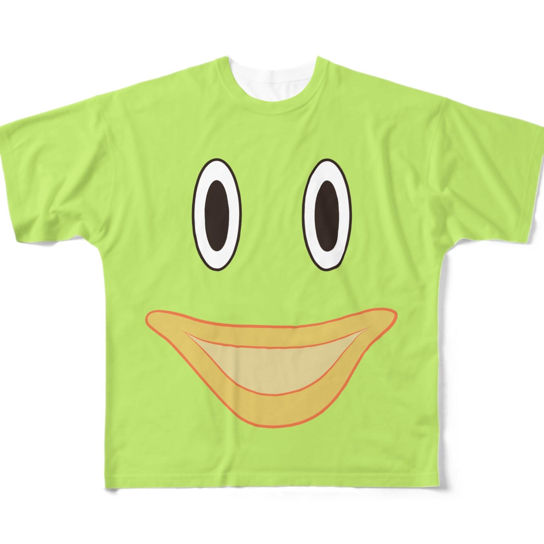 やまざきゆうみのロンどん君のTシャツ Full graphic T-shirts