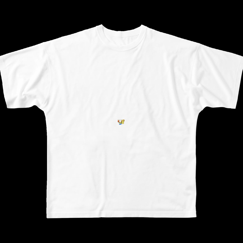 oujoiaeraweの心因性(機能性)EDと原因フルグラフィックTシャツ