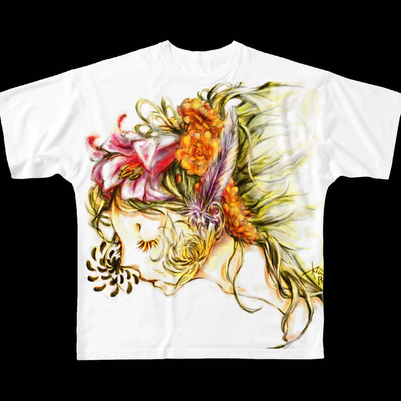 sioriの虚栄恋フルグラフィックTシャツ