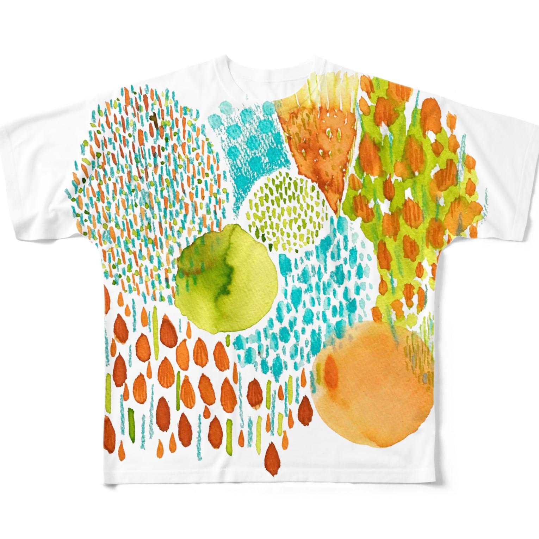 hugging♡+《ハギング ラブ プラス》の353 フルグラフィックTシャツ
