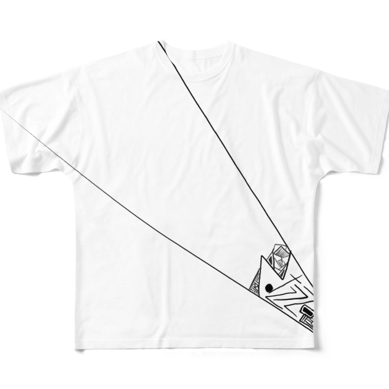 camelliarのトゲ Full graphic T-shirts