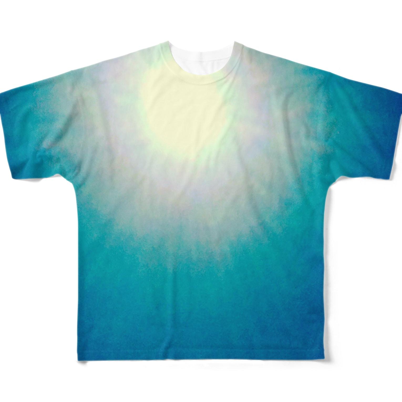 mixethnicjamamaneseのMixEthnicJamanese 太陽 Full graphic T-shirts