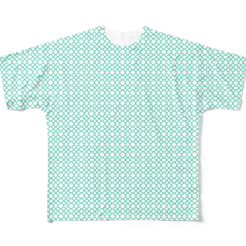 MOYOMOYO モヨモヨのモヨーP136 Full graphic T-shirts