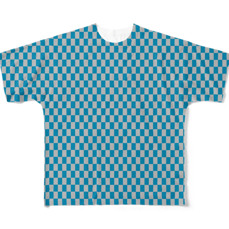 MOYOMOYO モヨモヨのモヨーP137 Full graphic T-shirts