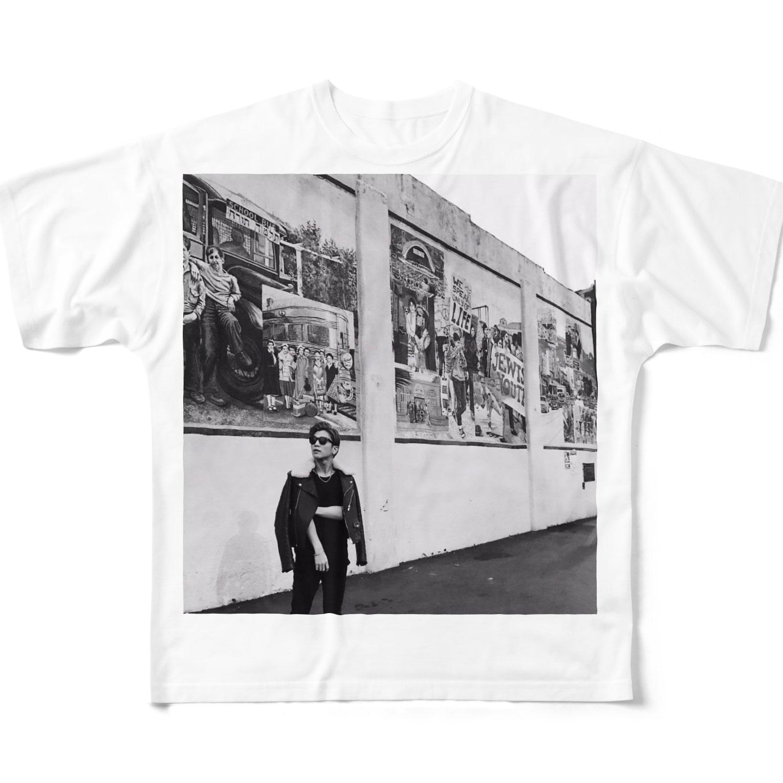 Chinats48707707の岩田剛典 Full graphic T-shirts