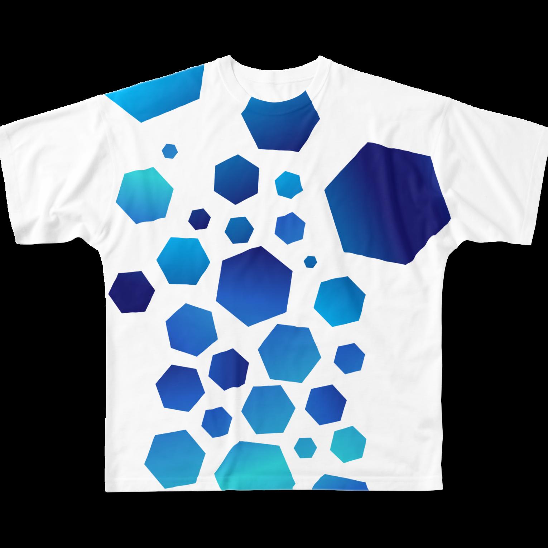neoacoのCrashedフルグラフィックTシャツ