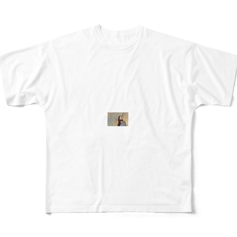 faweroaueroiの男性も知って得する長寿の理由 Full graphic T-shirts