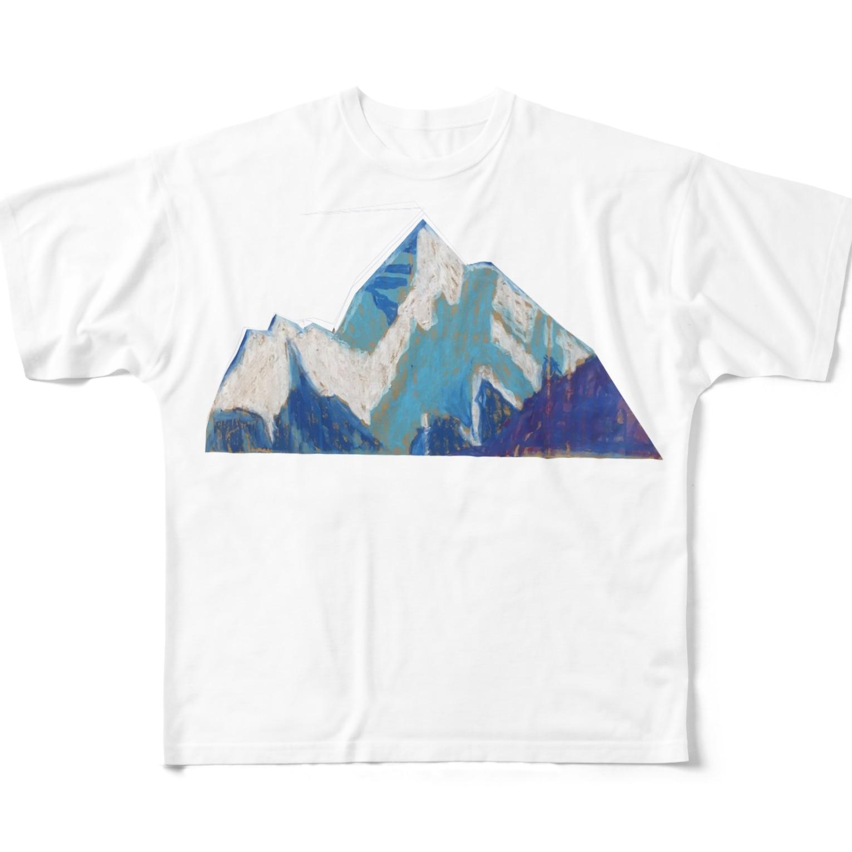 ちぷのmountain Full graphic T-shirts
