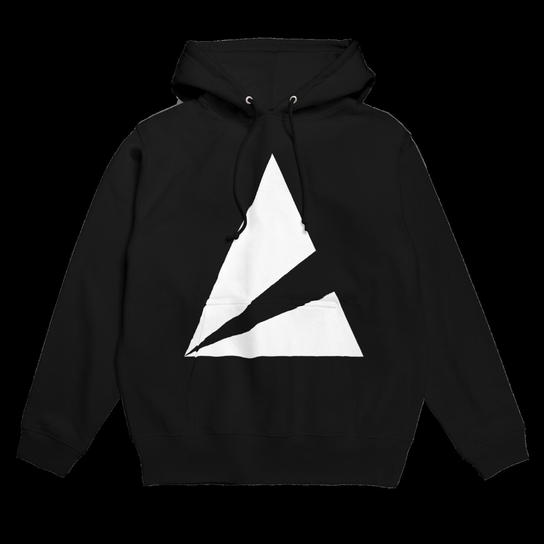 anica storeのanica logo 2フーディ