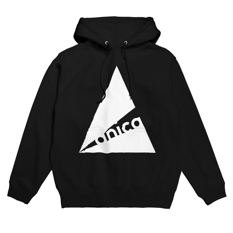 anica storeのanica name logo フーディ