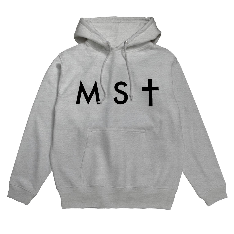 masatoの【S&Mサイズ用】masato#0 黒MSTフーディ Hoodies