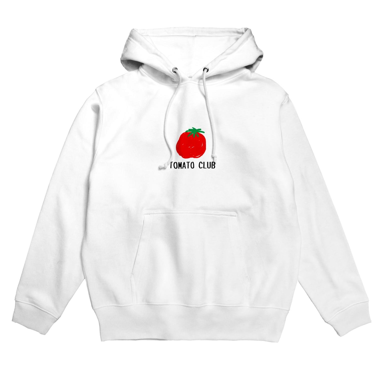 taka5143のトマトクラブ Hoodies