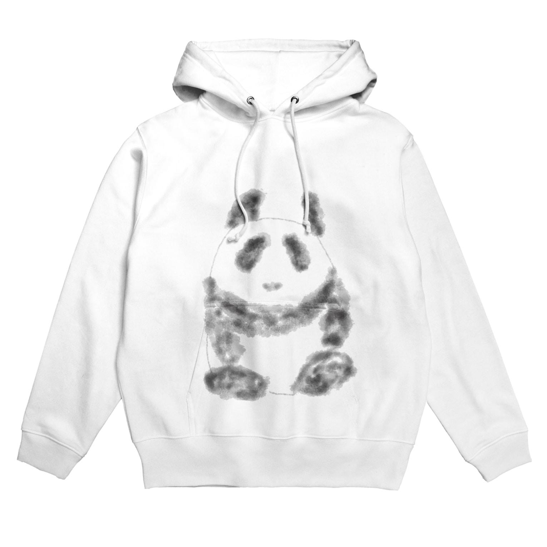 manamanawaruのパンダ⁉️ Hoodies