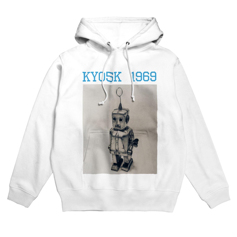 京極👓🎩のスパーキー君 Hoodies