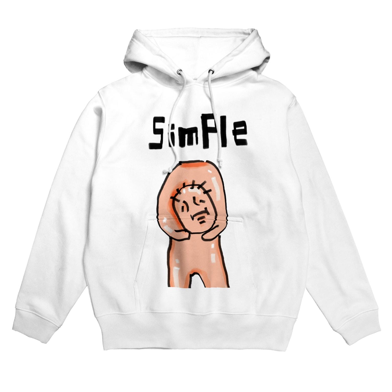 SIMPLE_BOYのSIMPLE MAGIC Hoodies