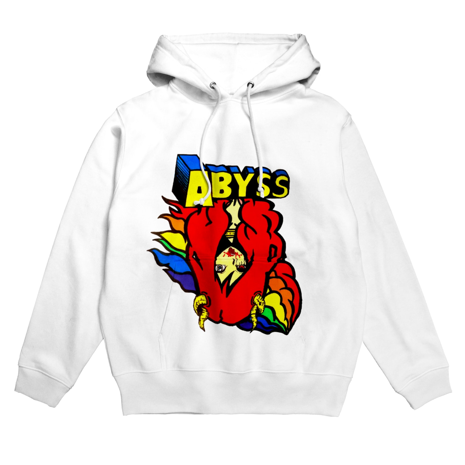 ABYSSのABYSS「rainbow」 Hoodies