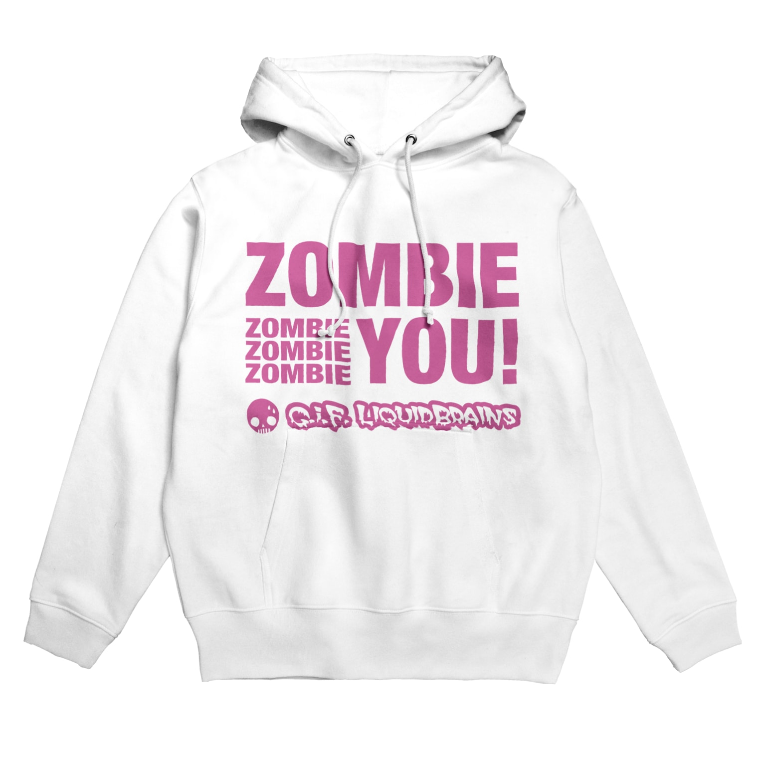 KohsukeのZombie You! (pink print) Hoodies