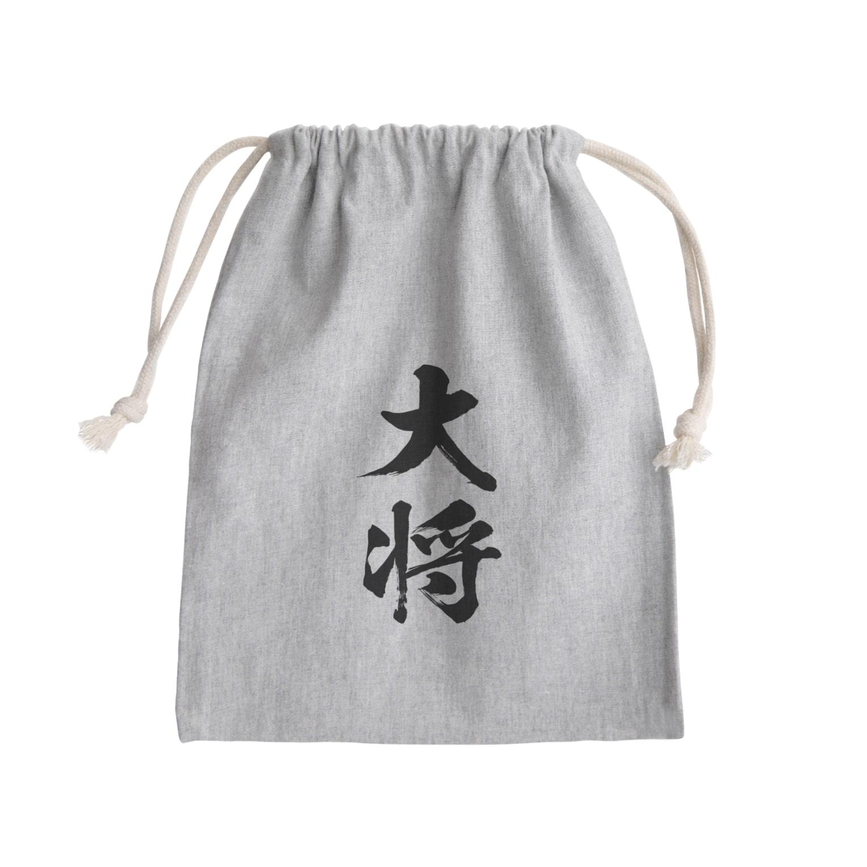 風天工房の大将(黒) Kinchaku