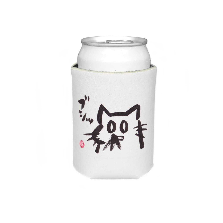 ショカ(=ФωФ=)ネコのお店 SUZURI支店のひまんがCat(はなぢ) Koozies