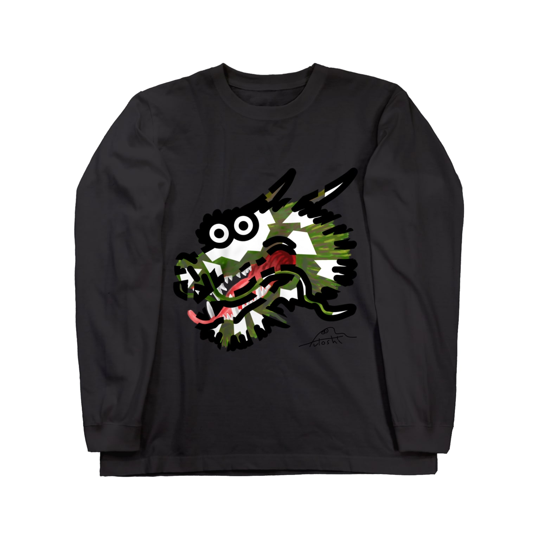 flounder2のタツ ロングスリーブTシャツ